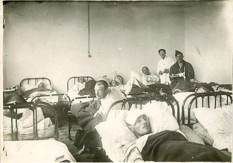 Salle des blessés